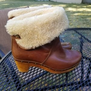 UGG Lynnea foldover convertible heeled boot